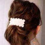 女性らしいヘアスタイル
